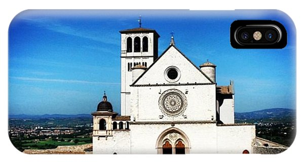 Architecture iPhone Case - Assisi by Luisa Azzolini