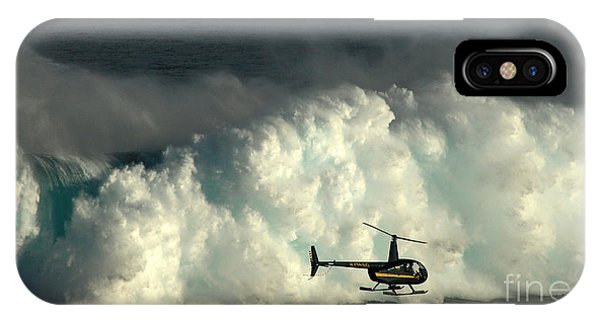 At Peahi IPhone Case