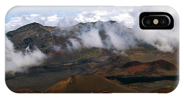 At The Rim Of The Crater IPhone Case