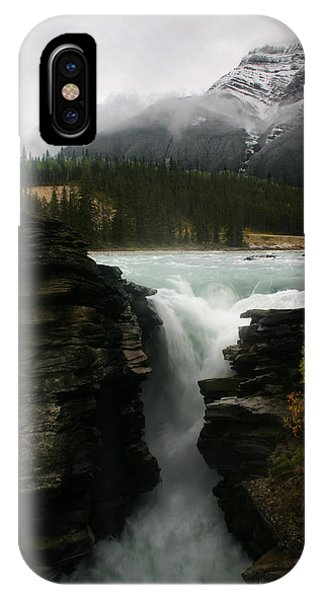 Athabasca Falls Jasper National Park IPhone Case