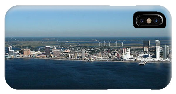 Atlantic City Skyline Panoramic IPhone Case