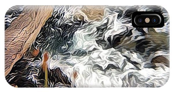 Impressionism iPhone Case - Atlantic Meets Land! #shockmypic #sea by Robert Campbell