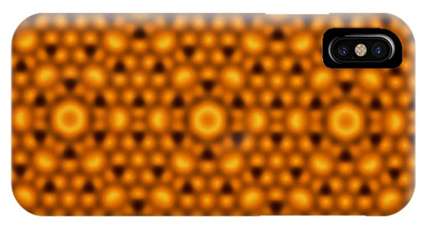 Atomic Surface Of A Silicon Crystal Phone Case by Northwestern University