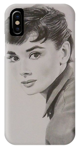 Audrey Phone Case by Mike OConnell