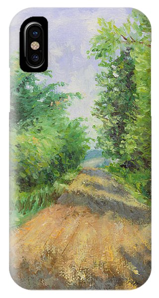 IPhone Case featuring the painting August Lane by Joe Winkler