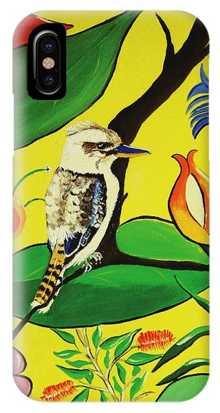 Australian Kookaburra IPhone Case