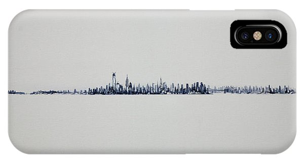 Autum Skyline IPhone Case