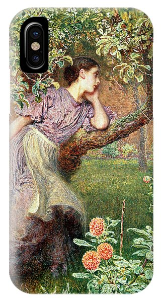 Orchard iPhone Case - Autumn by Frederick Walker