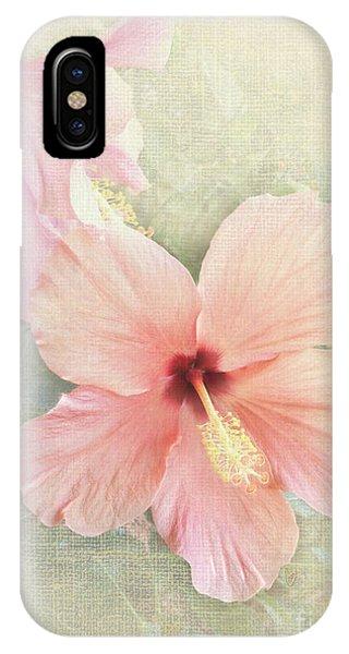 Autumn Hibiscus IPhone Case