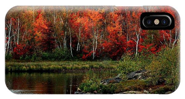 Autumn In Canada 2 IPhone Case