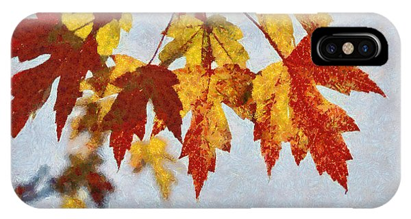 Autumn Leaves IIi IPhone Case
