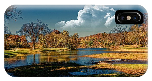 Autumn On The South Fork IPhone Case