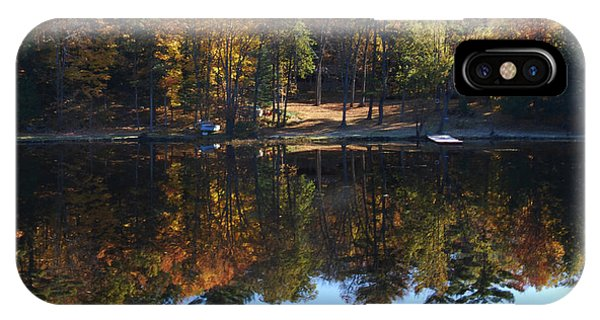 Autumn Reflections Phone Case by Kim French