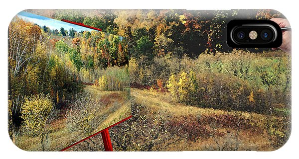 Autumn Roads IPhone Case