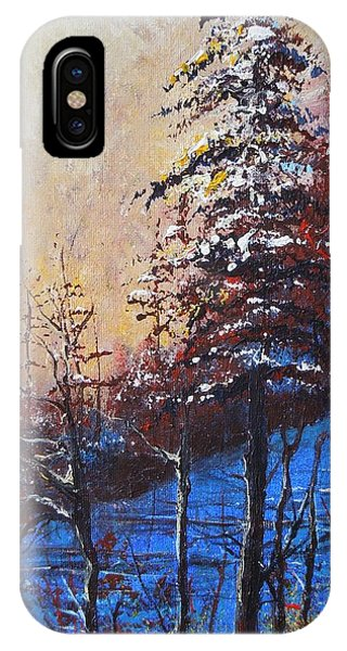Autumn Silence IPhone Case