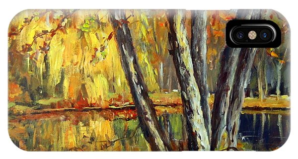 Autumn Sunlight IPhone Case