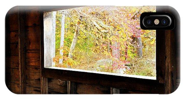 Autumn's Window IPhone Case