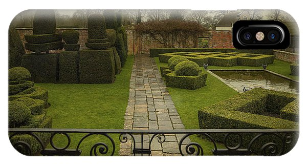 Avebury Manor Topiary IPhone Case