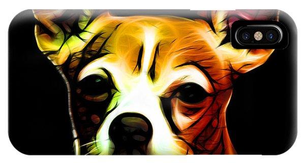 Aye Chihuahua - Orange IPhone Case