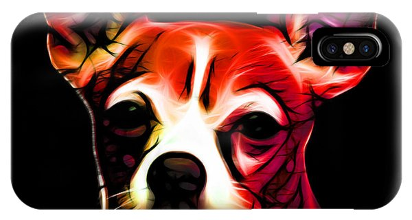 Aye Chihuahua - Red IPhone Case