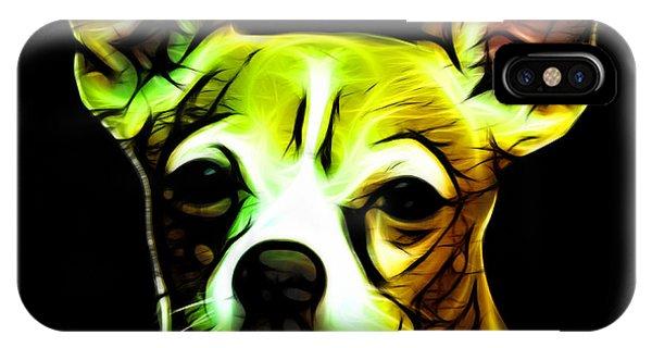 Aye Chihuahua - Yellow IPhone Case