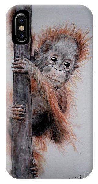 Baby Orangutan  IPhone Case