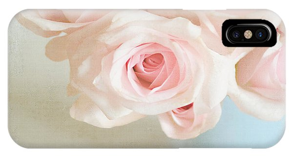 Baby Pink Roses IPhone Case