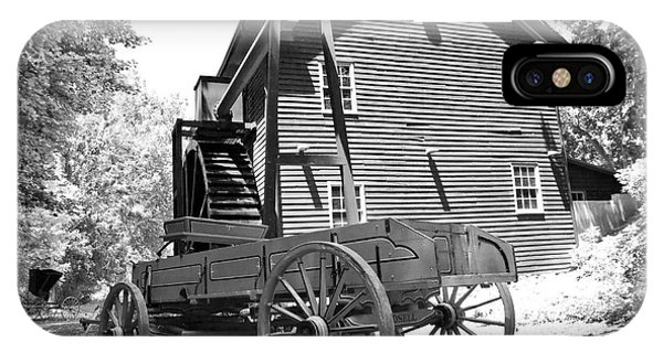 Wagon Wheel iPhone Case - Back In The Days by Betsy Knapp