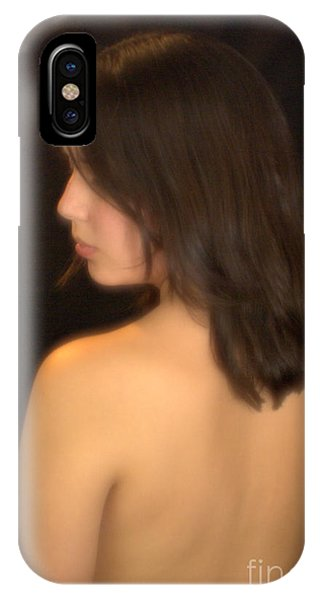 Back Profile IPhone Case
