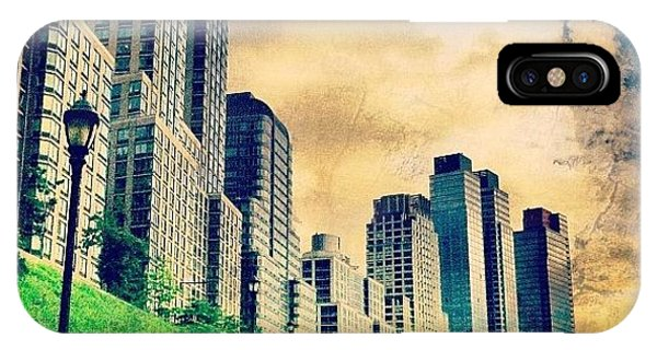 Skylines iPhone Case - Back To The City.  by Luke Kingma