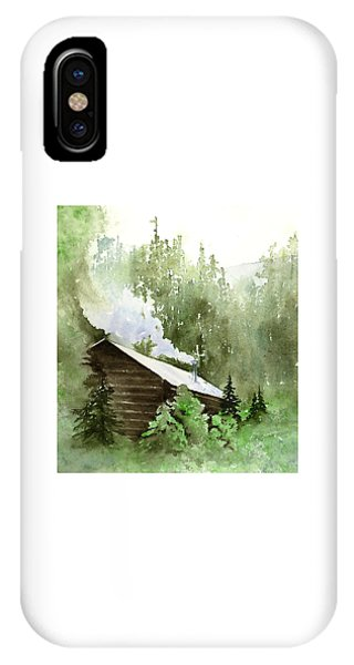 Backcountry Morning IPhone Case