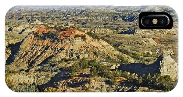 North Dakota Badlands iPhone Case - Bad Lands  by Michael Peychich