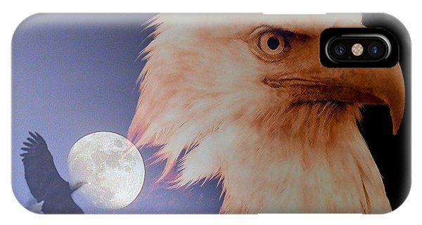 Bad Moon Rising IPhone Case