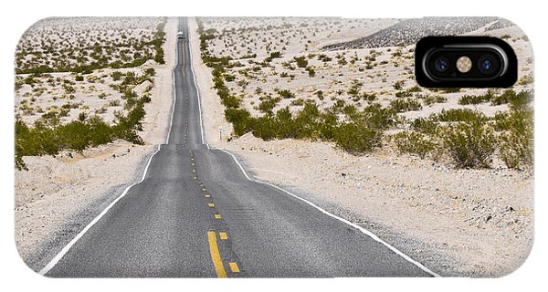Badwater Road IPhone Case