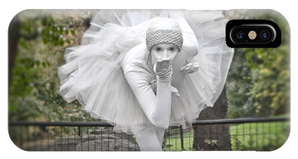 Ballerina In The Park IPhone Case