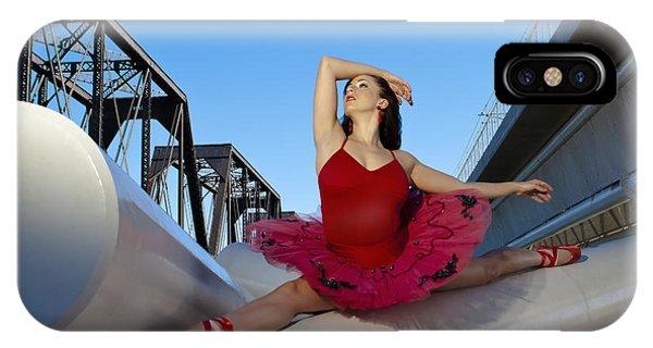 Ballet Splits IPhone Case