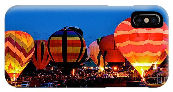 Balloon Glow IPhone Case