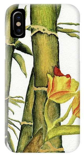 Bamboo Paradise IPhone Case