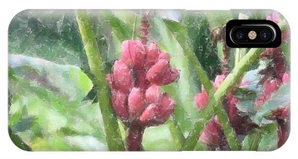 Banana Plant IPhone Case