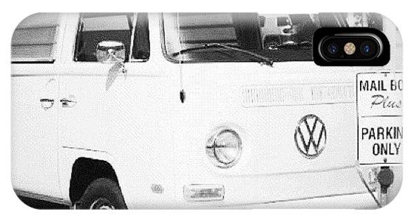 Volkswagen iPhone Case - #bandw #blackandwhite #vw #van #vwvan by Megan Petroski