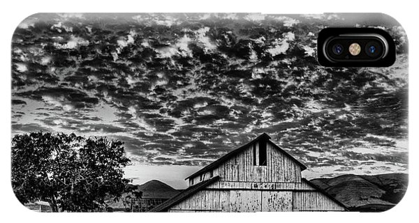 Barn At Sunset IPhone Case