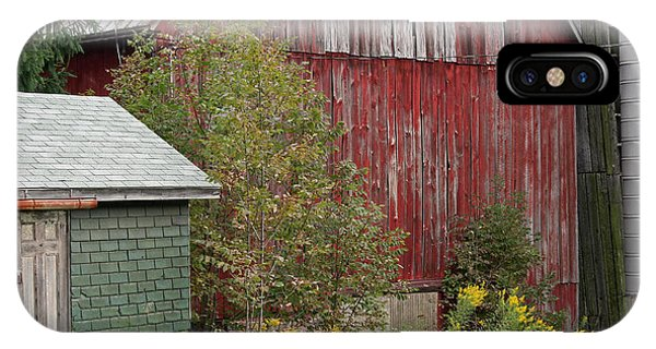 Barn Buildings IPhone Case