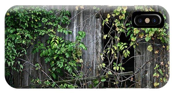 Barn Window Vine IPhone Case