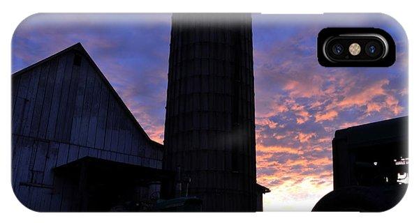 Barnyard Sunrise IIi IPhone Case