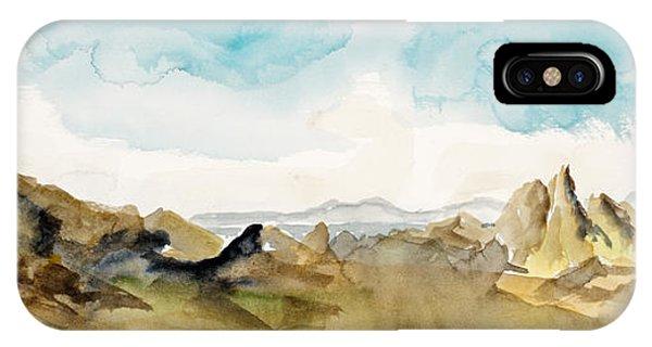 Barren Landscape IPhone Case