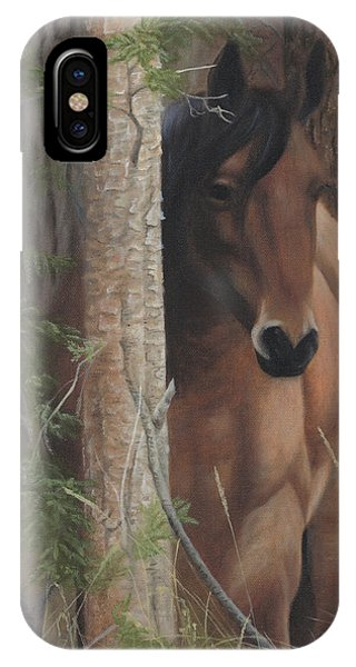 IPhone Case featuring the painting Bashful by Tammy Taylor