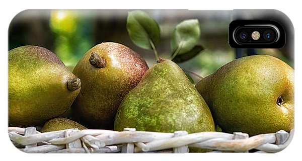 Basket Of Pears IPhone Case