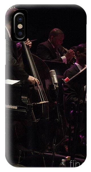 Bass Player Jams Jazz IPhone Case