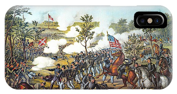 Allison iPhone Case - Battle Of Atlanta, 1864 by Granger