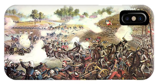 Allison iPhone Case - Battle Of Bull Run, 1861 by Granger
